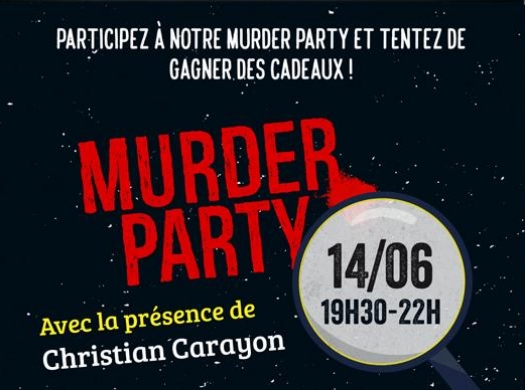 Murder Party à la librairie